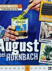 Hornbach Monatskatalog 08/2013 August 2013 KW31