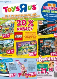 Toys'R'us 20% Rabatt August 2013 KW31