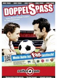 Reifen.com DOPPELSPASS - Mit reifen.com jeden Monat Fußballtickets gewinnen August 2013 KW31