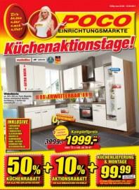POCO Küchenaktionstage August 2013 KW31