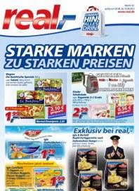 real,- Sonderbeilage - Starke Marken zu starken Preisen August 2013 KW32
