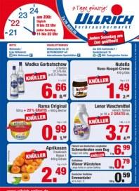 Ullrich Verbrauchermarkt Knüller August 2013 KW32