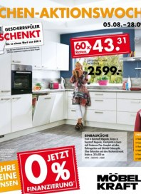 Möbel Kraft Küchen-Aktionswochen August 2013 KW31