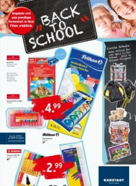KARSTADT 23.07.2013 Back to School - Angebote ab jeweiligen Ferienbeginn August 2013 KW32