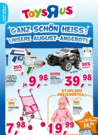 Toys'R'us Unsere August-Angebote August 2013 KW31