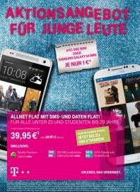 Telekom Shop Aktionsangebot für junge Leute August 2013 KW33