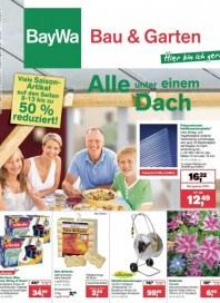 Baywa Bau- & Gartenmärkte Bau & Garten Angebote August 2013 KW33