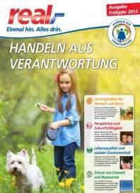 real,- Sonderbeilage - Handeln aus Verantwortung (Frühjahr 2013) August 2013 KW33