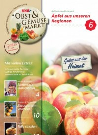 real,- Sonderbeilage - Obst und Gemüse August 2013 KW34 1