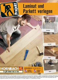 Hornbach Projekt Laminat und Parkett verlegen 08 / 2013 Laminat, Parkett, Vinyl, Kork und Zubehör. M