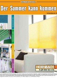 Hornbach Der Sommer kann kommen 03 / 2013 Vorhänge, Insektenschutz, Sonnenschutz außen, Sonnenschutz