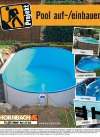 Hornbach Projekt Pool auf-/einbauen 03 / 2013 Pools, Zubehör und Extras, Pool-Tuning, Sicherheit Aug