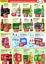 Getränkeland Getränke Angebote gültig ab: 19.08.2013 August 2013 KW34 3