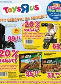 Toys'R'us Satte Rabatte im August August 2013 KW34