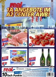 real,- Sonderbeilage - 1A Angebote im A2 Center AWB August 2013 KW35 1