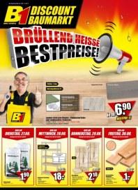 B1 Discount Baumarkt Aktuelle Angebote August 2013 KW34 1