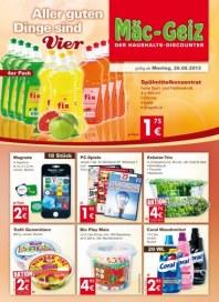Mäc-Geiz Aktuelle Angebote August 2013 KW35 1