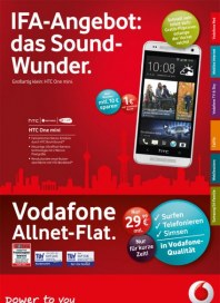 Vodafone IFA-Angebot August 2013 KW35