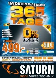 Saturn Im Osten was Neues: 365 Tage in Köpenick August 2013 KW35