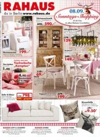 Rahaus Sonntags-Shopping August 2013 KW35