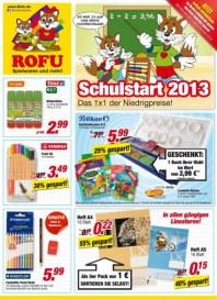 Rofu Kinderland Schreibwaren und Schulbedarf September 2013 KW36