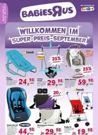 Toys'R'us Willkommen im Super-Preis-September September 2013 KW35
