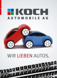 Koch Automobile Wir lieben Autos September 2013 KW35