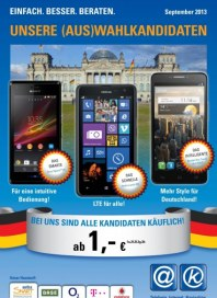 aetka Communication Center Smartphone & Internet Angebote September 2013 KW35