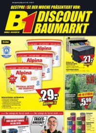 B1 Discount Baumarkt Aktuelle Angebote August 2013 KW35 2
