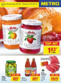 Metro Cash & Carry Food September 2013 KW36