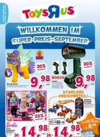 Toys'R'us Willkommen im Super Preis-September September 2013 KW36