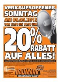 Globus Baumarkt Baumarkt Angebote September 2013 KW37 9