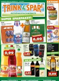 Trink und Spare Angebote September 2013 KW37