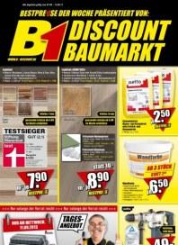 B1 Discount Baumarkt Aktuelle Angebote September 2013 KW36