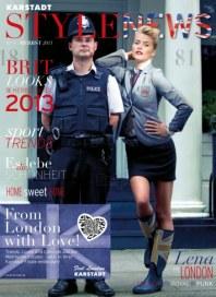 KARSTADT 02.09.2013 Stylenews 4 - 02.09 September 2013 KW37 2