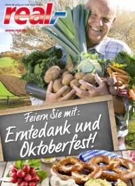 real,- Sonderbeilage - Erntedank und Oktoberfest September 2013 KW38