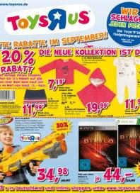 Toys'R'us Die neue Kollektion ist da September 2013 KW38