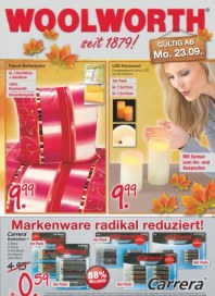 Woolworth Markenware radikal reduziert September 2013 KW39