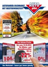 auto plus Vor-Saison-Preise September 2013 KW38