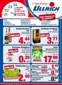 Ullrich Verbrauchermarkt Aktuelle Angebote September 2013 KW39