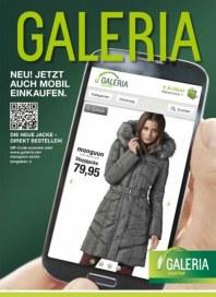 Galeria Kaufhof Jetzt auch mobil einkaufen September 2013 KW39