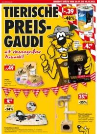 Das Futterhaus Tierische Preisgaudi mit riesengroßer Auswahl September 2013 KW39