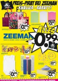 Zeeman Preis-Pirat bei Zeeman - Knaller-Rabatt September 2013 KW39