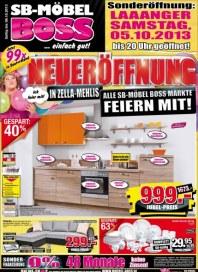 SB Möbel Boss Aktuelle Angebote Oktober 2013 KW40