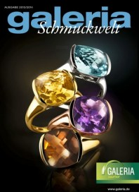Galeria Kaufhof Schmuckmagazin 02.10 Oktober 2013 KW40
