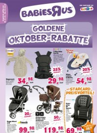 Toys'R'us Goldene Oktober-Rabatte Oktober 2013 KW40
