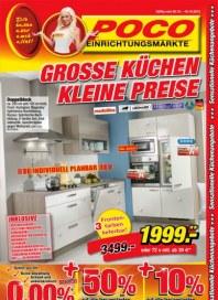POCO Große Küchen - Kleine Preise Oktober 2013 KW40