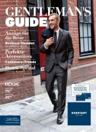 KARSTADT 09.10.2013 Gentlemans Guide 09.10 Oktober 2013 KW41