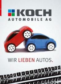 Koch Automobile Wir lieben Autos Oktober 2013 KW40