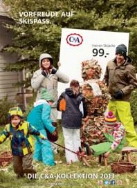 C&A Vorfreude auf Skispass Oktober 2013 KW41